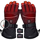 CREATRILL Heated Gloves w/Rechargeable 7.4V Batteries for Men and Women Cycling Motorcycle Hiking