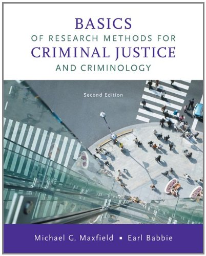 Basics of Research Methods for Criminal Justice and...