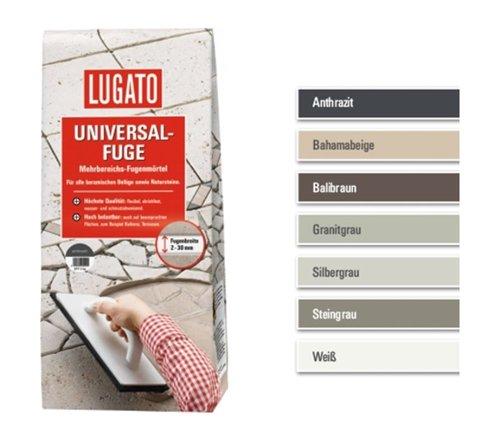 Lugato Universal-Fuge balibraun 5 kg - Mehrbereichs-Fugenmörtel