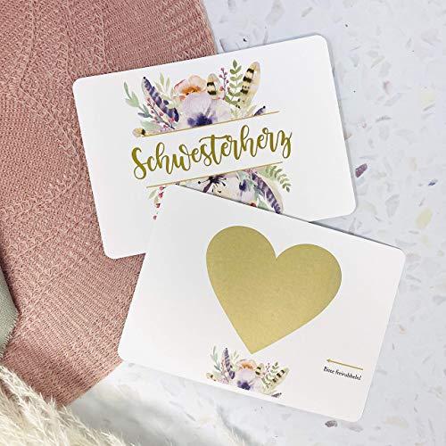 Karte Willst du meine Trauzeugin sein, Rubbelkarte, Hochzeit, Trauzeugin fragen, Personalisierte Geschenke