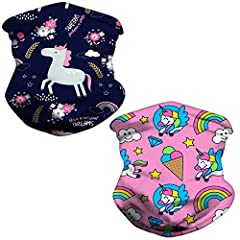 【SOFT AND COZY FABRIC】: Unlike other face masks,our children face bandana is the moisture-wicking and quick-dry fabric that keeps your child comfortable.The fabric of this Face Mask is very smooth, soft and breathable, and can let you feel ICE-COOD. ...