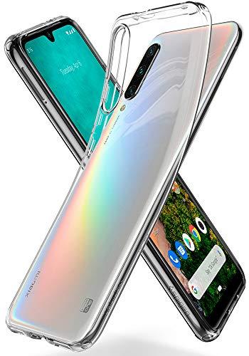 Spigen Liquid Crystal Kompatibel mit Xiaomi Mi A3 Hülle, Transparent TPU Silikon Handyhülle Durchsichtige Schutzhülle Hülle Crystal Clear S51CS26398