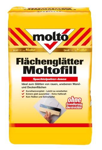 Molto Flächenglätter Moltofill Pulver 5 kg, weiß, 5087713 [Werkzeug]
