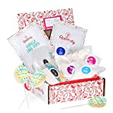 Baketivity Kids Baking Set, Meal Cooking Party Supply Kit for Teens, Real Fun Little Junior Chef Essential Kitchen Lessons, Includes Pre-Measured Ingredients (Baketivity Kit, Vanilla Cake Pops)