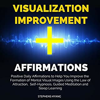 Visualization Improvement Affirmations audiobook cover art
