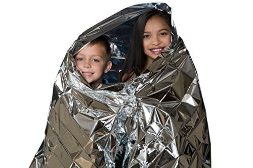 بطانيات الكنغر الحرارية للطوارئ (عبوة من 10) للبيع