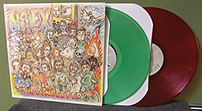 The Longest EP 2x LP (Clear Green/Clear Red Vinyl) (Limited to /337 copies)