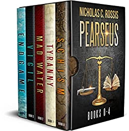 Pearseus Bundle: The Complete Pearseus Sci-fi/Fantasy Series by [Nicholas C. Rossis]
