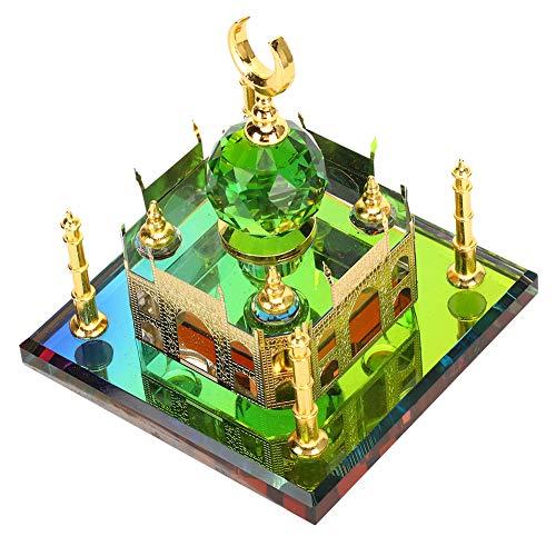 Taj Mahal Miniature Building Model Elegant Ti Crystal Souvenir Wedding Decoration Desk Ornaments