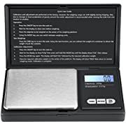 Brifit Digital Food Scale, (5000g/11lb) Kitchen Scale, Electronic Cooking Food Scale with LCD Display, Stainless Steel, Accurate and Slim Design, 2 batteries (included)