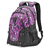 High Sierra Loop Backpack, RAINFOREST/BLACK, 19 x 13.5 x 8.5-Inch