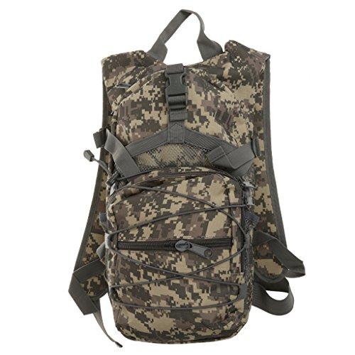 Camouflage Extérieur Sac à Dos Tactique Du Sport Militaire De Camping Randonnée Trekking