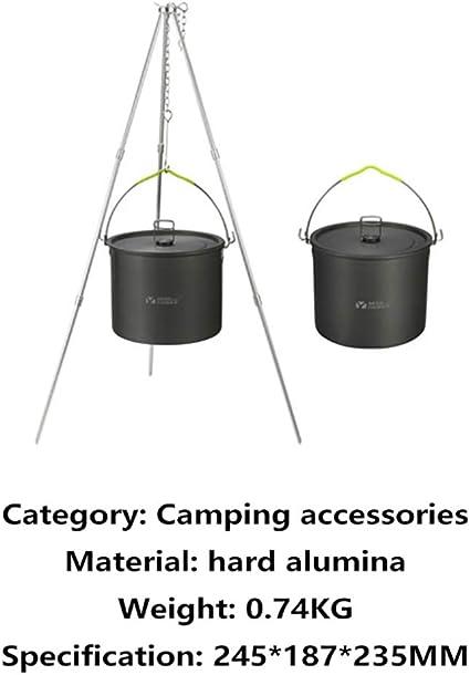 Kits de utensilios de cocina para acampar, ollas para ollas ...