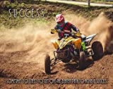 Apple Creek Motocross ATV Quad Racing Success Motivational Poster Art Print 11x14 Wall Decor Pictures