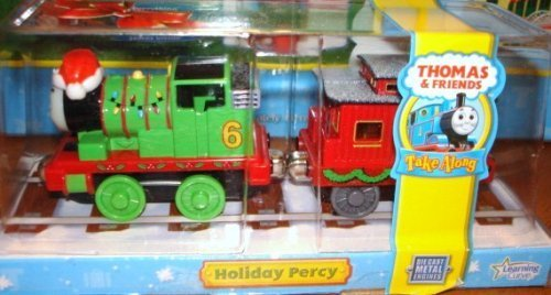 Thomas & Friends Take Along Die Cast Metal Holiday Percy Christmas Caboose