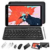 2 in 1 Tablet with Keyboard Mouse, Android 10.0 Tablets 3GB RAM 32GB ROM 128GB Extended, 4 Core 1.6Ghz CPU, Dual Camera, 8 Inch WiFi Tablet PC (Gray)