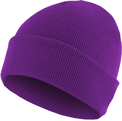 MSTRDS 10248, Gorro Unisex, Morado (Purple 3096), Talla única