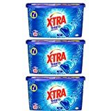 XTRA Total Duo Caps - Lessive Universelle en Capsules - 90 Lavages (Lot de 3x30 Doses)