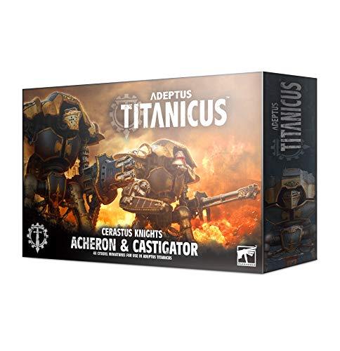 Adeptus Titanicus: Cerastus Knights Acheron and Castigator