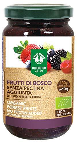 PROBIOS Waldfrüchte-Brotaufstrich - Gesüßt Nur mit Zucker aus Früch, 3er Pack (3 x 220 g)