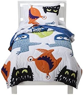 Circo Monster Party Quilt and Sham Set TWIN