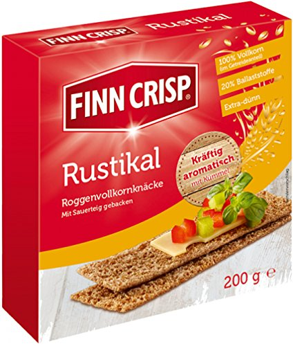Finn Crisp Rustikal Roggenvolkornknäcke 200g