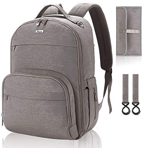 (50% OFF Coupon) Large Capacity Diaper Bag Backpack $19.00