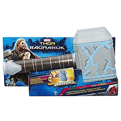 Marvel Avengers- Avengers Martillo atronador de Thor,, 34 x 18 cm (Hasbro B9975EU4)