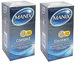 Manix - Contact 28 Préservatifs - lot de 2 packs