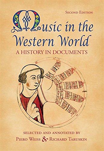 Compare Textbook Prices for Music in the Western World 2 Edition ISBN 9780534585990 by Weiss, Piero,Taruskin, Richard