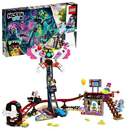 LEGO Hidden Side - Feria Encantada, Set de Construcción con Atracciones de Juguete y Minifiguras de Fantasmas, Funciona con App, a Partir de 8 Años (70432)