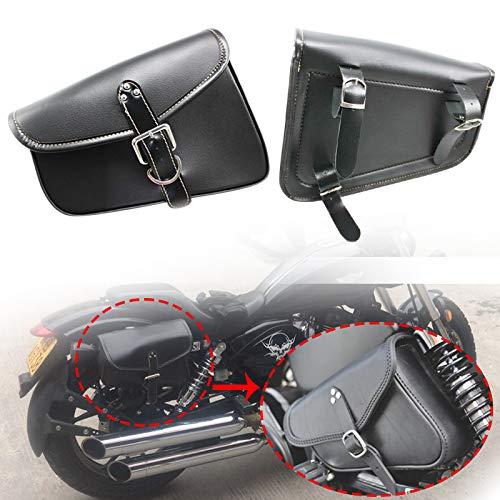 YMXDXTY para Harley Sportster XL883 XL1200 Motorbike Saddlebags PU Cuero Swingarm Bag Saddle Bags Side Tool Storage para Yamaha XL 883 Derecha Bolsa (Color Name : Right)