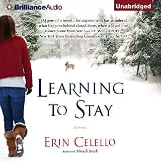 Learning to Stay audiobook cover art