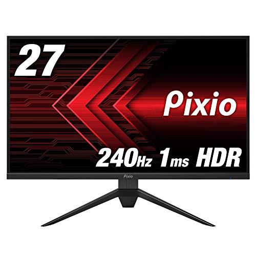Pixio PX279 Prime ディスプレイ モニター [ 27インチ 240hz IPS 1ms HDR FreeSync G-SYNC Compatible対応 ] ゲーミング モニター HDR対応 ベゼルレス フレームレス 27 inch FPS向き display monitor 【正規輸入品】