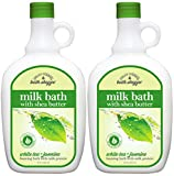 Village Naturals Bath Shoppe, Milk Bath, White Tea and Jasmine, 28 Fl...