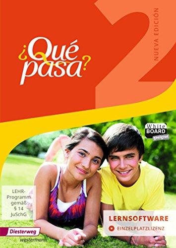 ¿Qué pasa? - Ausgabe 2016: Lernsoftware 2: Einzelplatzlizenz: Lehrwerk für Spanisch als 2. Fremdsprache ab Klasse 6 oder 7 - Ausgabe 2016 / ... ab Klasse 6 oder 7 - Ausgabe 2016)