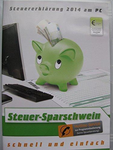 Steuer-Sparschwein 2015 - Für Steuererklärung 2014