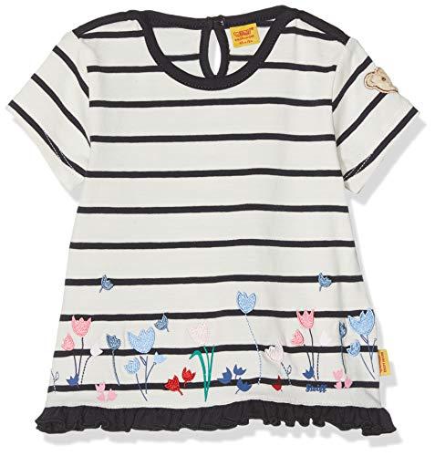 Steiff Steiff Baby-Mädchen 1/4 Arm T-Shirt, Blau (Marine|Blue 3032), 86