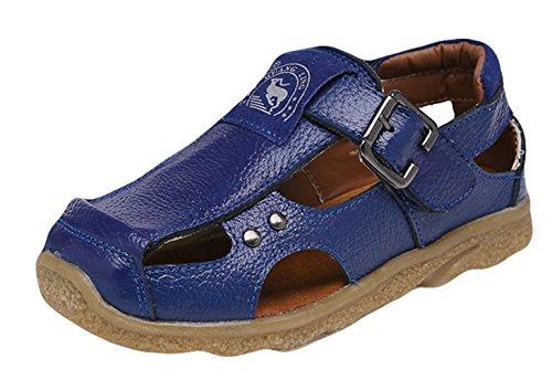 Insun Jungen Geschlossene Sandalen Kinder Sportliche Sandale Strand Wanderschuhe Blau 26 EU