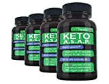 Ketosis Pills Fat Burn Booster: Ketones Supplements That Works Fast for Women and Men, Get Max Strength Metabolism Fat Burner and Fasting Cleanse Weight Loss Intermittent Fasting Support, Bulk 4 Pack