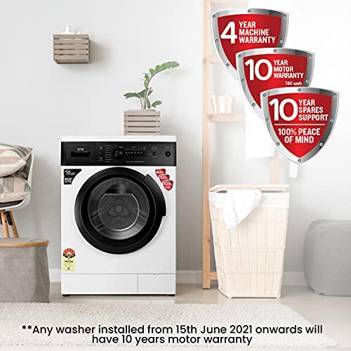 IFB 6 kg 5 Star Fully-Automatic Front Loading Washing Machine (Diva Aqua BX, White|Black matte, Aqua Energie,Crescent Moon Drum,Laundry... 6
