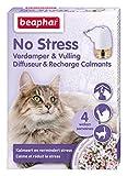 Beaphar - Diffuseur Calmant, Anti-Stress pour apaiser l'animal - Chat - 1 Prise et 1 Recharge de 30 ML