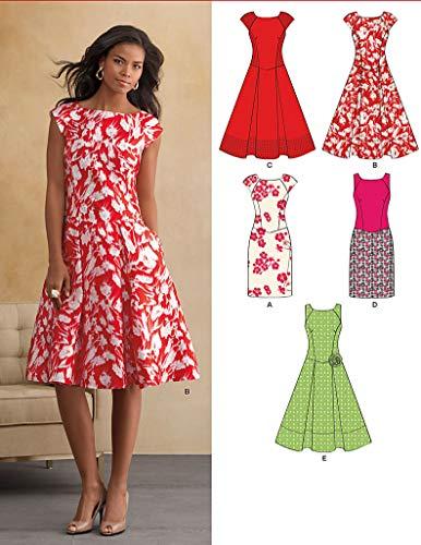 New Look NL6094 Schnittmuster Kleid, 22 x 15 cm