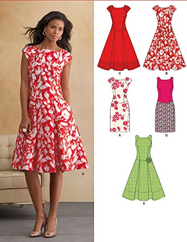 New Look U06094A Misses Dresses Sewing Pattern