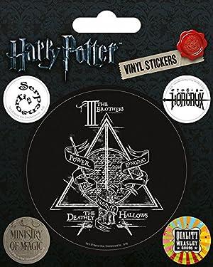 Pyramid International Harry Potter (Symbols) Vinyl Stickers, Paper, Multi-Colour, 10 x 12.5 x 1.3 cm