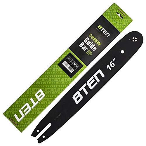 8TEN Chainsaw Guide Bar for Stihl 009 010 023 MS 170 180 210 3005 000 4713 163SLBA074 16 inch .063 .325 62DL