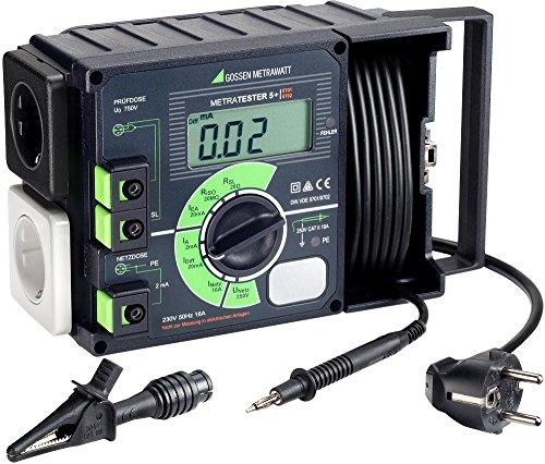 Gossen Metrawatt METRATESTER 5+ Tester VDE DIN VDE 0701Teil 1–240DIN VDE 0702.