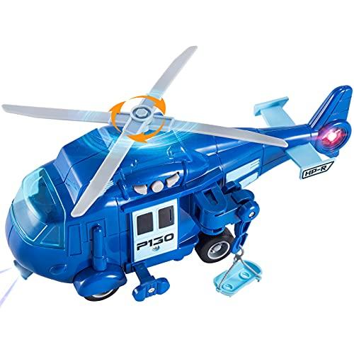 HERSITY Hubschrauber Spielzeug Kinder,...