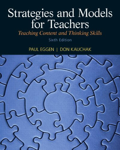 Strategies and Models for Teachers: Teaching Content and...