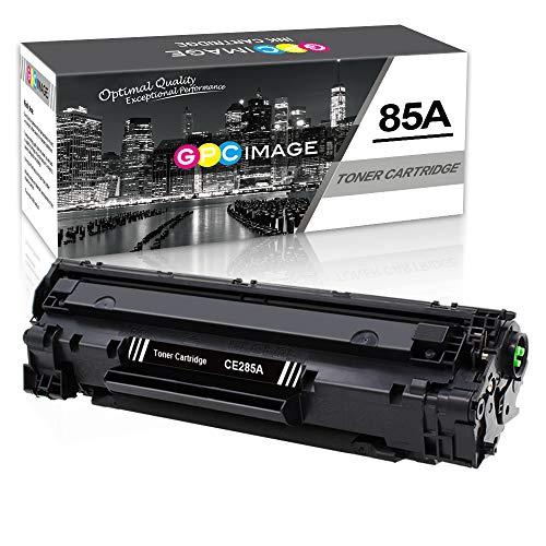 GPC Image Cartuchos de Tóner Compatible para HP CE285A 85A (1 Negro) para HP Laserjet Pro P1100 P1102 P1102W M1132 M1132MFP M1212 M1212NF M1217NFW Laser Impresora, 1600 Páginas por Cartucho de Tóner